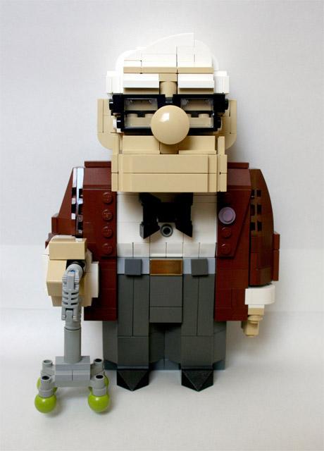 カールじいさんの空飛ぶ家-レゴ