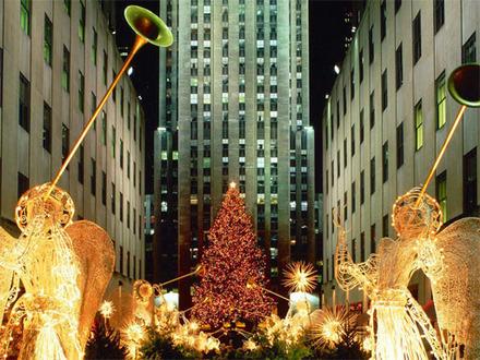 ロックフェラー・センター-クリスマス・ツリー