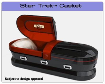 スター・トレックの棺おけ