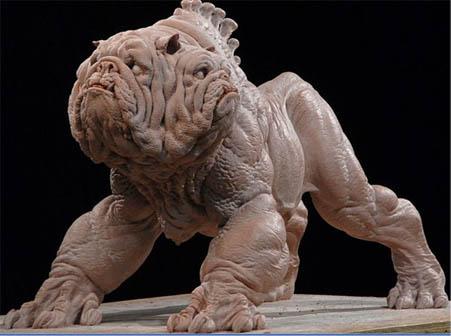 ヘルボーイ2-ゴールデンアーミー-三面犬