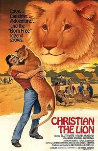 クリスチャン・ザ・ライオン-ポスター