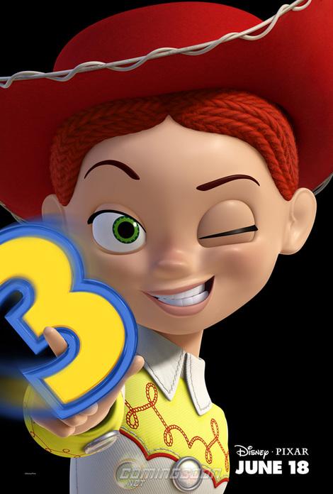 ピクサー-トイストーリー3-ジェシー