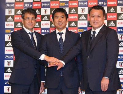 田嶋会長明言ベンゲル氏にアドバイザー打診「日本サッカー界に興味がある」