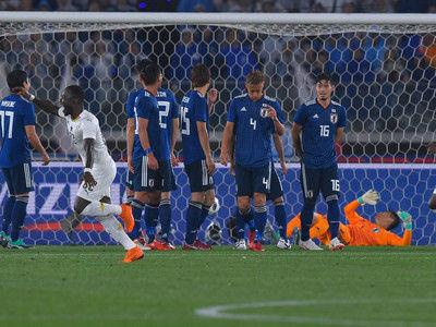 停滞感払拭できず…3-4-2-1採用の西野J初陣はガーナに0-2敗戦