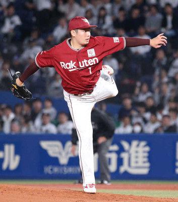 楽天・松井、約4年ぶり先発登板は5回3安打無失点勝利投手の権利を持って降板