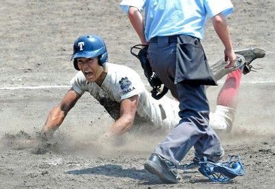 大阪桐蔭が奇跡逆転九回2死からド執念の4連続四球!山田 気迫2点打で勝ち越し