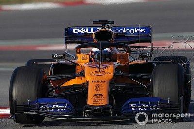 F1合同テスト後半2日目午前:16秒台見えた!サインツJr.最速タイム、レッドブル・ホンダのフェルスタッペンは3番手