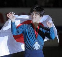 宇野は主要国際大会6連続2位「羽生選手のように重圧に打ち勝つ選手になりたい」