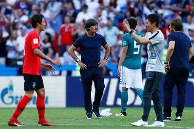 ドイツ代表レーブ監督、衝撃的なW杯敗退で辞任検討か