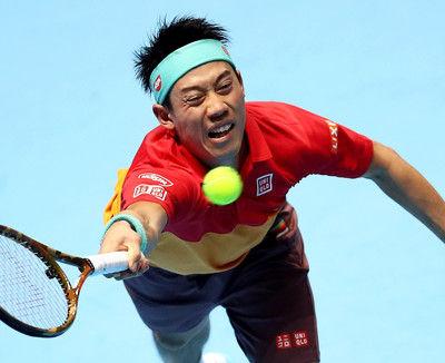 錦織ミス連発で完敗 1勝1敗、世界6位アンダーソンに屈する<ATPファイナルズ>