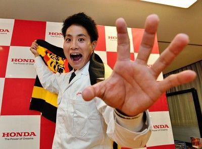 """阪神ドラ3・木浪聖也、黄金世代に挑戦状""""虎のセイヤ""""になる!"""