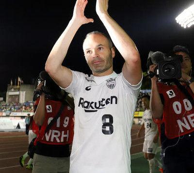 イニエスタ浦和戦欠場漏えいの選手所属クラブが謝罪