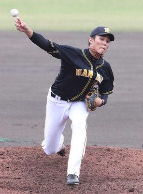 阪神・藤波、課題克服ならず…制球乱れ4回4安打6四死球で3失点