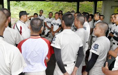 大阪桐蔭、新主将は中野「経験少ない分、練習を大事に」