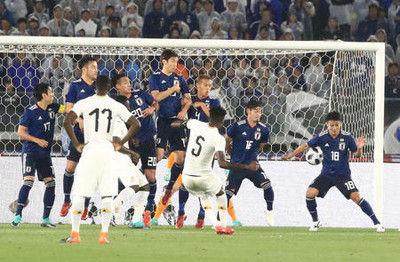 日本、ガーナに完敗親善試合18・3%の高視聴率
