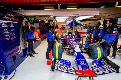 【ホンダ密着】F1バルセロナテスト3日目:トップタイムに素直な喜び。レッドブル&トロロッソ首脳陣も明るい表情を見せる