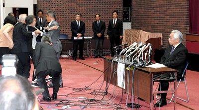 日大 再びドタバタ劇…学長会見に一般人女性が乱入宮川選手には謝罪 サポート約束