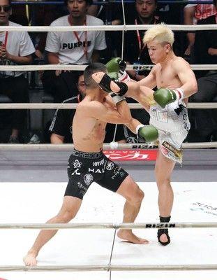 那須川が堀口とのドリームマッチに判定勝ち!「動物、獣と戦っているみたい」