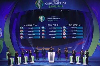 コパ・アメリカの組み合わせが決定!日本はウルグアイ、チリ、エクアドルと同組に