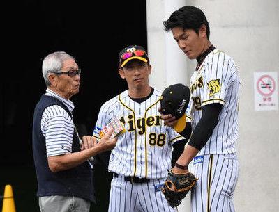 阪神藤浪208球「縦に腕振れ」権藤氏フォーム助言