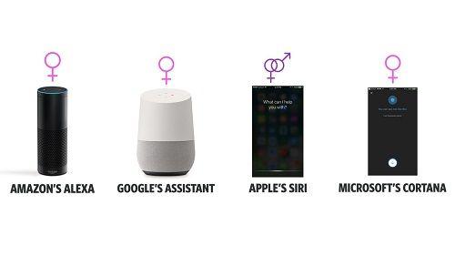 女性 AI 声 性差別 偏見 ユネスコに関連した画像-01
