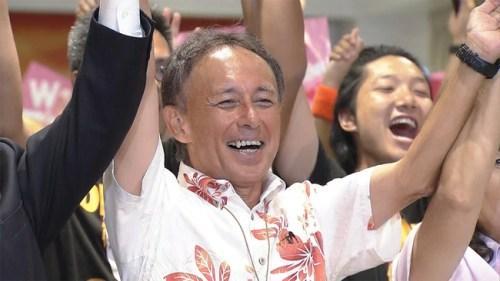 沖縄知事 選挙 野党 玉城デニーに関連した画像-01