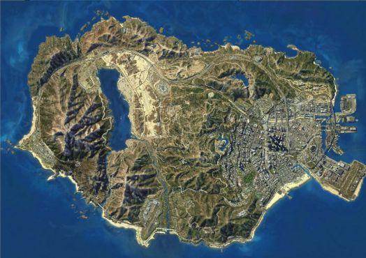 サイバーパンク2077 グランド・セフト・オート GTA5 マップに関連した画像-01