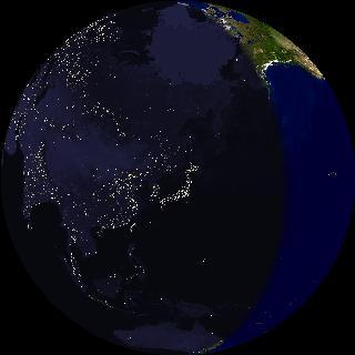 JUSTIN★FIVEと仲間たち:宇宙から見た夜の地球 - livedoor Blog(ブログ)