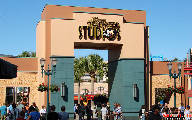 Hollywood Studios Gate