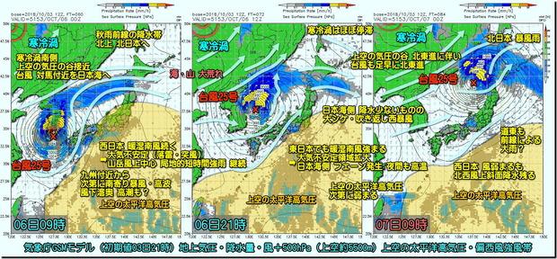 台風25号3コマ181004