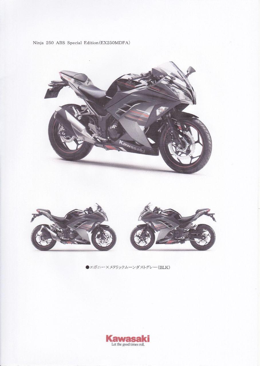 2013年ニューモデル Ninja 250 新発売 : フォレストのblog