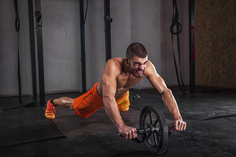 Abdominal-muscle-roller