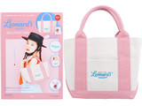 Leonard's BAKERY BAG & POUCH BOOK 《付録》 キャンバス風トート&クリアポーチ