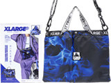XLARGE 3WAY BLUE FIRE BAG BOOK 《付録》 「OGゴリラ」ロゴ入り 3WAYサコッシュ