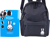 CUNE(R) BACKPACK BOOK 《付録》 ウサギワッペン付きバックパック