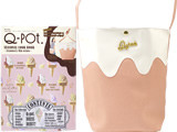 Q-pot. SEASONAL LOOK BOOK ~Strawberry Milk Gelato~ 《付録》 ストロベリーミルクジェラート ワンショルダーバッグ