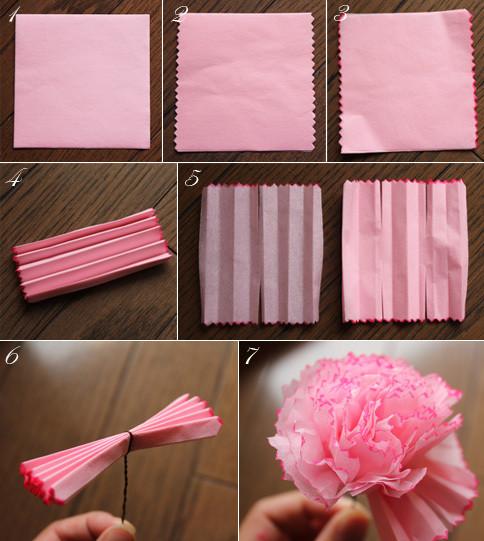 「お花紙 作り方」の画像検索結果