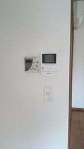 TVモニターフォン・アフター:貸家3号
