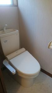 1階トイレ・アフター:貸家3号