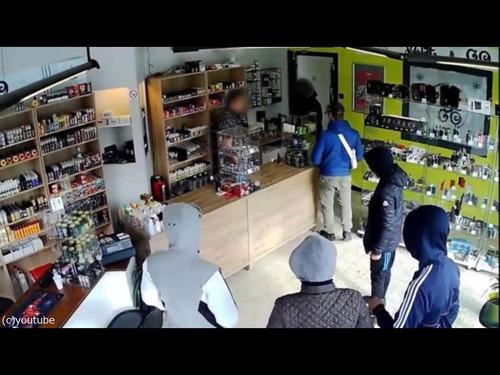 ベルギーの間抜けな強盗