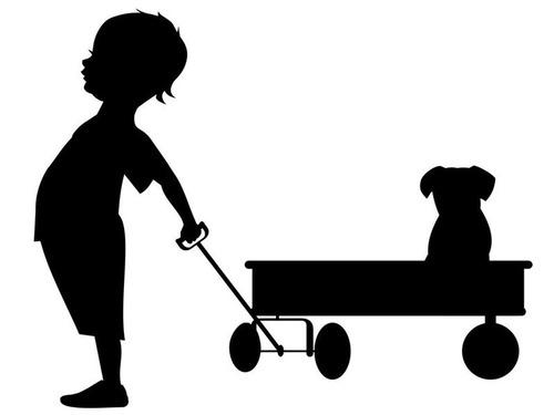 この少年と犬の割合は同じまま保たれた