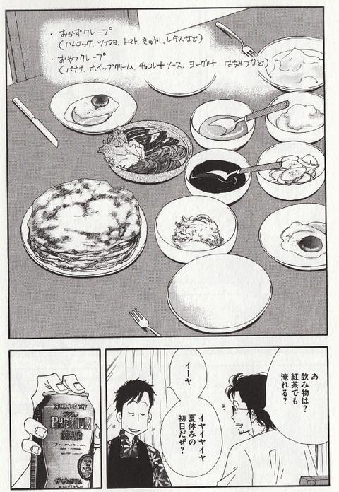 きのう何食べた?シロさんのクレープ