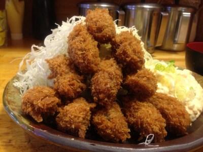 「カキフライ定食 大盛り」の画像検索結果