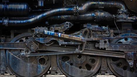 131014蒸気機関車のエンジン@ペンシルバニア スクラントン