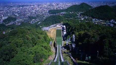 140428大倉山ジャンプ競技場@北海道 札幌