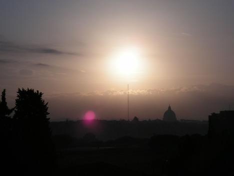 バルコニーからのサン・ピエトロ大聖堂
