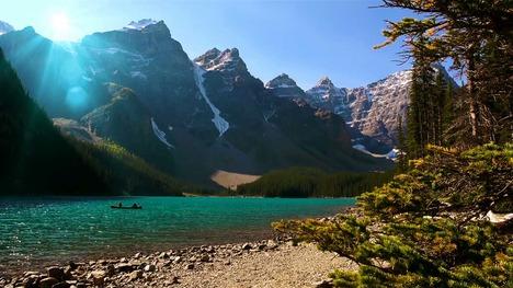 140910モレーン湖@カナダ アルバータ州