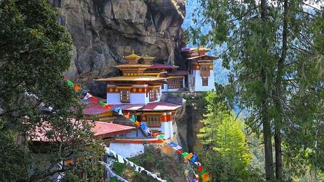 141106タクツァン僧院@ブータン パロ