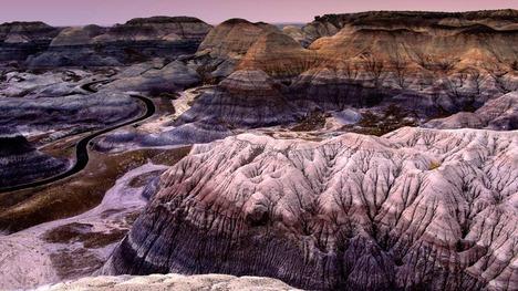 130209ペインテッド砂漠@アメリカ アリゾナ州