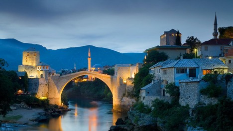 130402スタリ・モスト橋@ボスニア・ヘルツェゴヴィナ